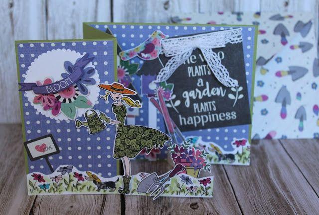 How Does Your Garden Grow? Deb's Garden Assistant Z Fold Card