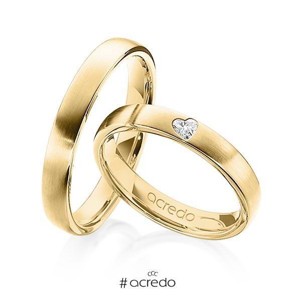 alianzas de boda con diamante en forma de corazón | jewelry en 2019