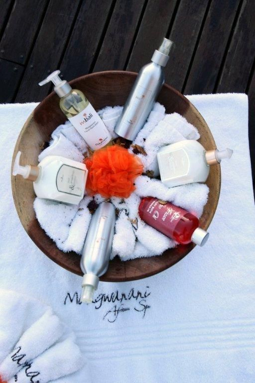 The magnificent Mangwanani Spa products