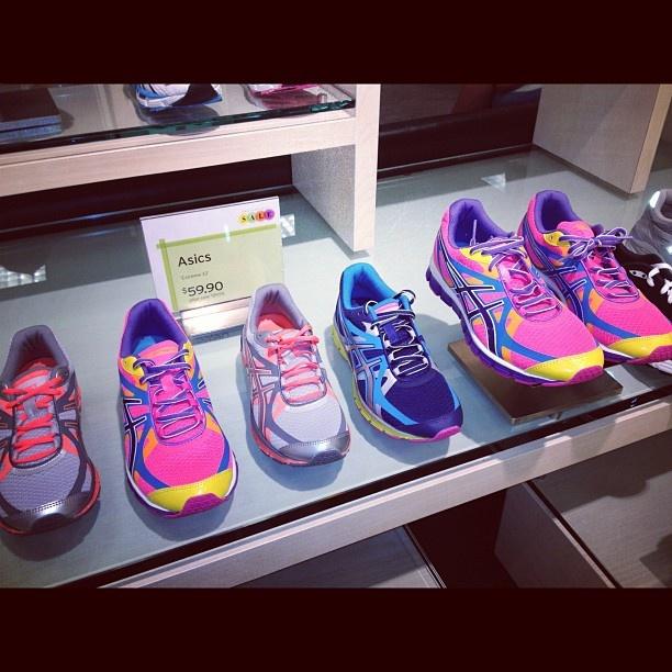 Running Colors Asics via Nordstrom Brea