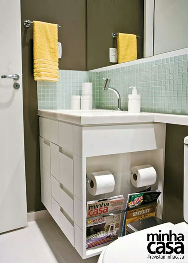 1000+ ideas about Armario Para Banheiro Pequeno on Pinterest  Decoração de b -> Cuba Para Banheiro Pequena