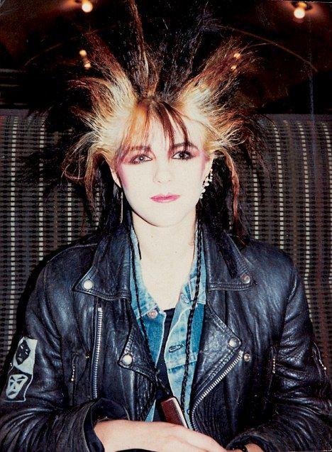 Liz Hurley in the '80s