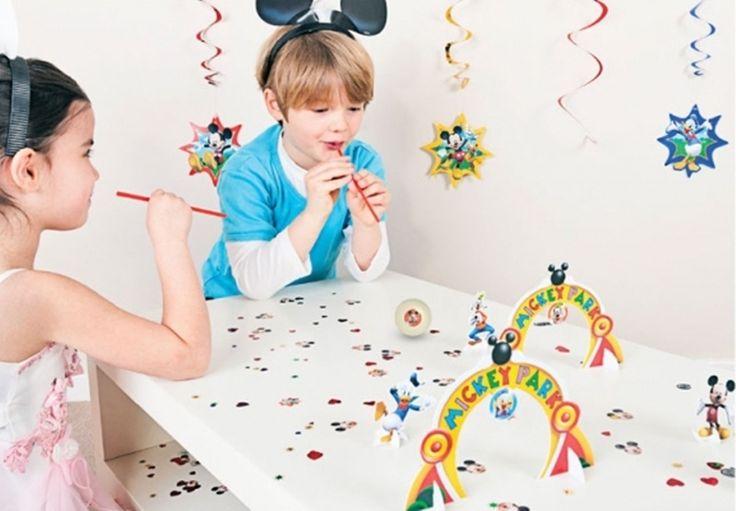 Gra na urodziny dziecka w stylu Myszki Mickey