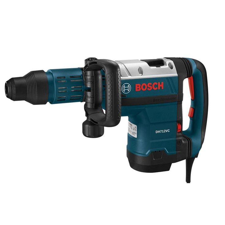 Bosch 14.5 Amp Corded Electric SDS-max Demolition Hammer with Auxiliary Side Handle and Carrying Case