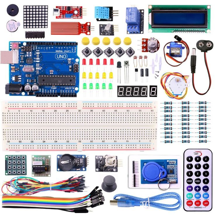 UNO R3 KIT Upgraded version for Arduino Starter Kit RFID Learn Suite Stepper Motor + ULN2003 FREE SHIPPING!