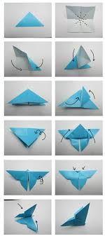 Bildergebnis für origami anleitung schmetterling