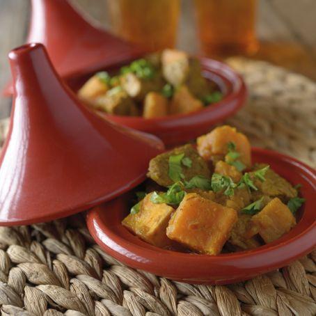 Marokkanisches Kürbis-Rind-Curry