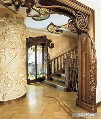 art nouveau interiors - Google Search