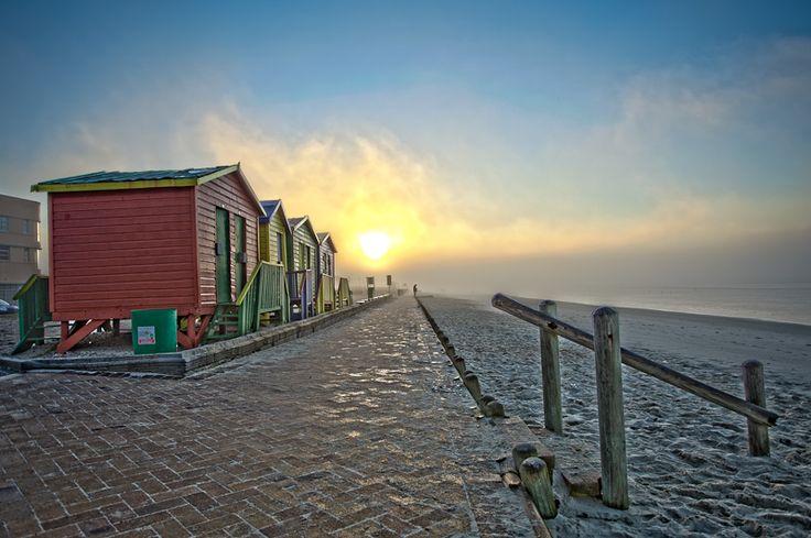 Muizenberg Beach Huts- photo Craig Strachan