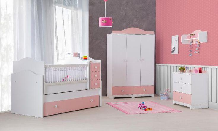 Gordijnen Babykamer Roze : Besten inspiratie babykamer peuterkamer meisjes bilder auf