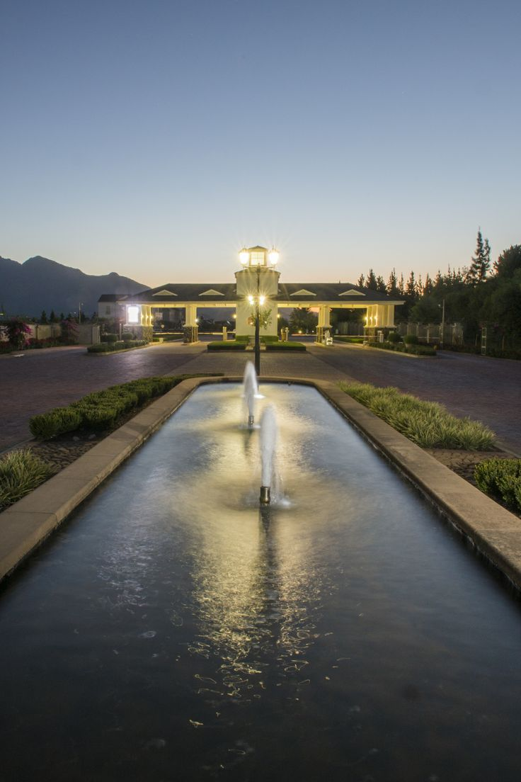 Beautiful Val de Vie Estate. For properties, visit www.polo-estate-properties.co.za by Resident Property Agent Maureen de Waal.