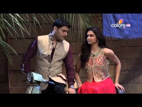Deepika Padukone enacts a scene from Chennai Express with Kapil | Kapil Sharma Video Website