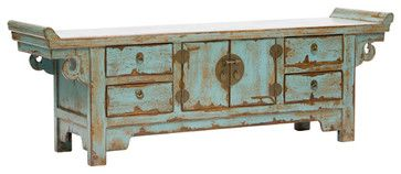 Low Sideboard - asian - buffets and sideboards - High Fashion Home