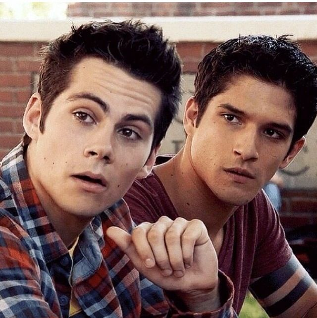 Stiles and Scott - Teen wolf - Dylan O'Brien and Tyler Posey