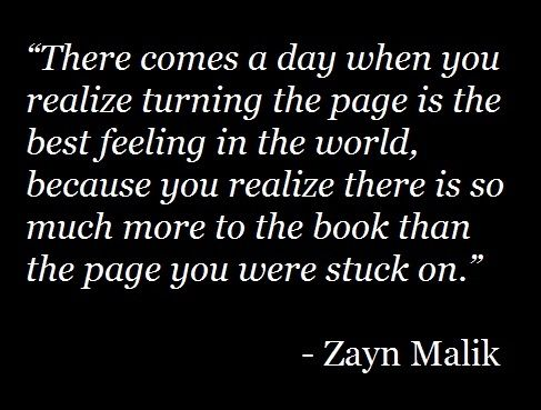 This is so true. I'm so glad that I turned that page