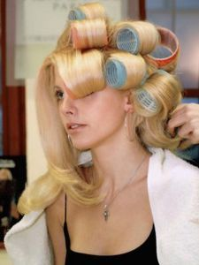 I wouldnt call it pageant hair but this is what I do to get really full hair...