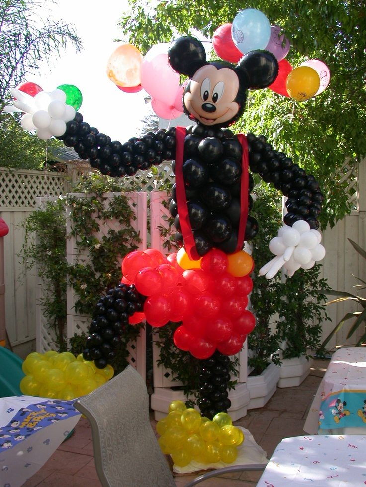 Mickey Mouse Balloon Party