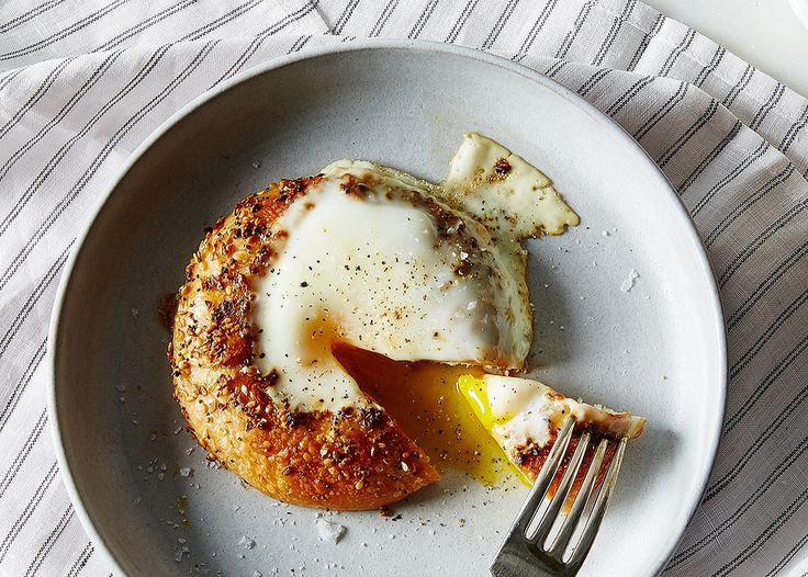 Quick and Easy Bagel Egg Breakfast Recipe