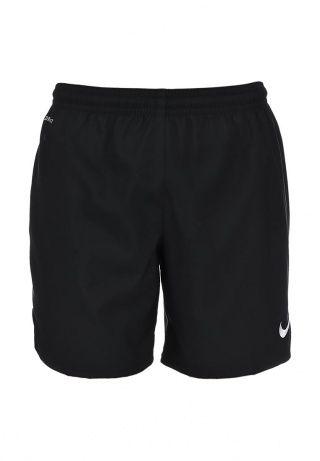 Шорты Nike выполнены из высокотехнологичной ткани с использованием функции Dri-Fit. Детали: прямой крой, эластичный пояс на шнурке, логотип марки. http://j.mp/1nlG0ol