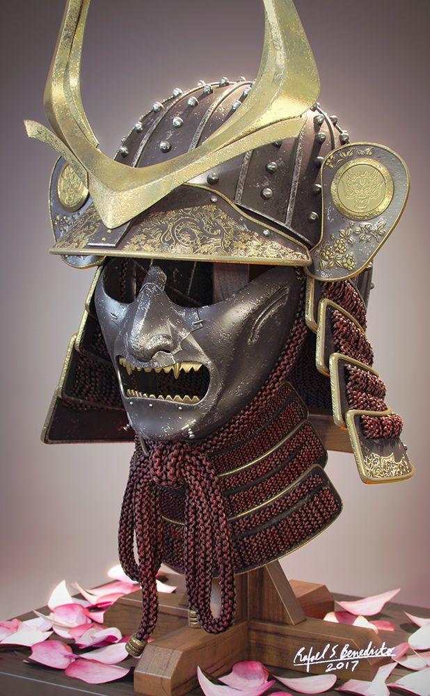 Samurai Helmet By Nnm06956. Samurai Kabuto Helmet + Men