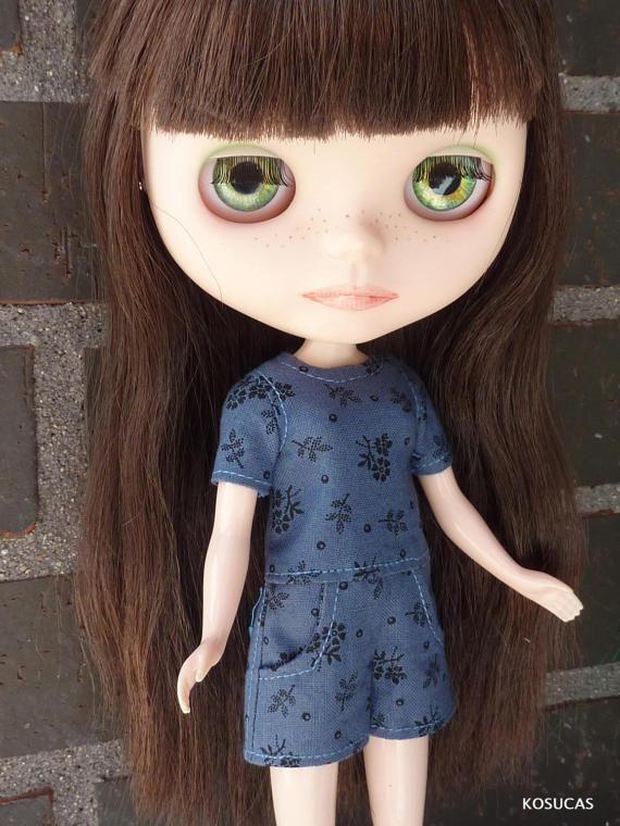 Romper for Neo Blythe dolls. por Kosucas en Etsy