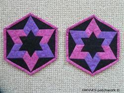 Berit Grydelapper - Mønster til 492 er et Pedari patchwork mønster,