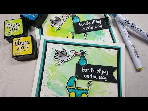 Mary Polanco Designs: Neutral Baby Cards with Lawn Fawn Plus One