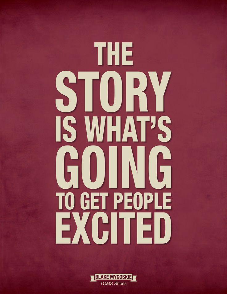 Ciekawy kontent i dobra historia to najlepszy sposób by zainteresować ludzi i zachęcić ich do interakcji.