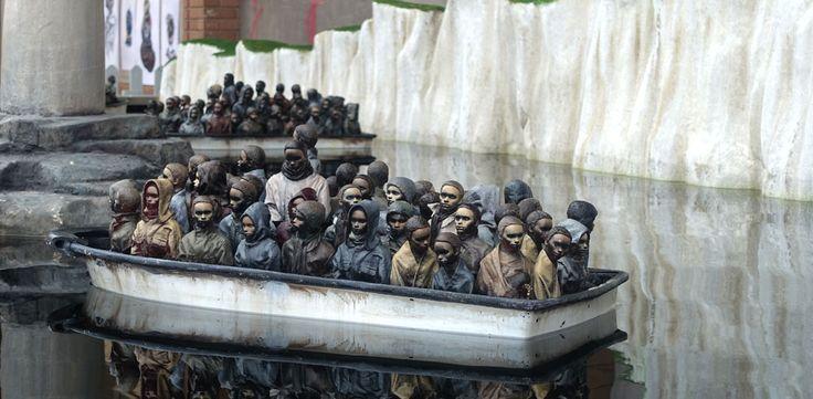 banksy-demonte-son-parc-d-attraction-dismaland-et-l-offre-aux-migrants ...