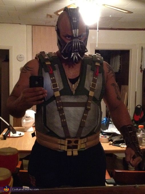 Homemade Bane Costume - The Dark Knight Rises - Photo 2/5