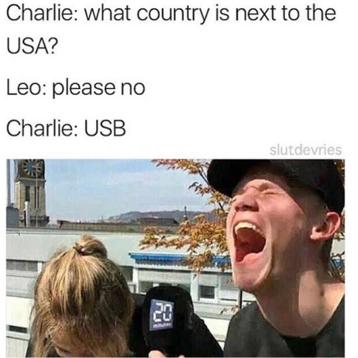 O Charlie. I live in the USA