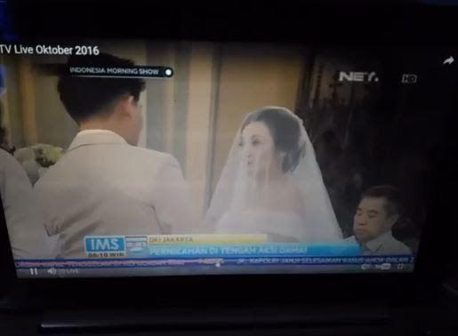 Kisah Unik : saat AKSI DAMAI, pasangan WNI keturunan Tionghoa ini menikah di katedral, mereka harus melewati jutaan orang..