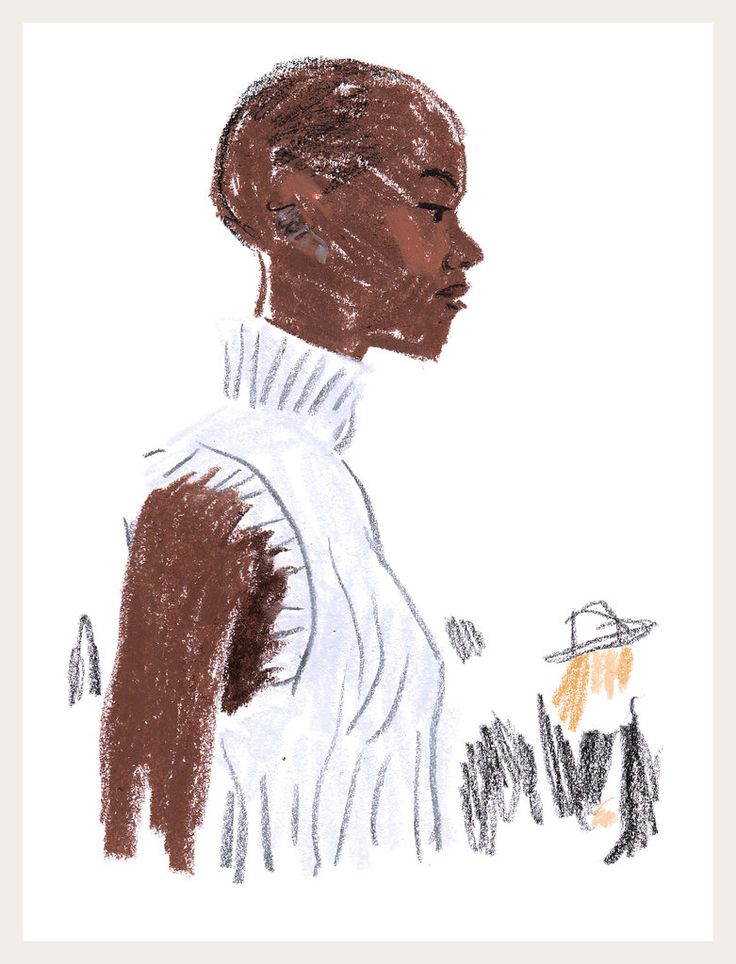 The illustrator Damien Florébert Cuypers shares his impressionistic portraits of the stylish personalities around the City of Light this week.
