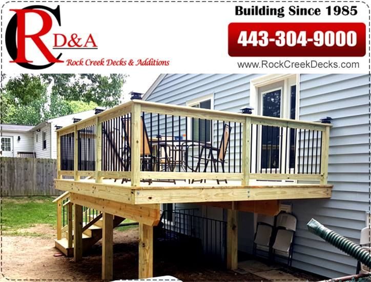 We Will Help You Build And Design Your Dream Deck In Howard County Md Deck Builders In Howard County Md Rock Building A Deck Deck Building Design Plan