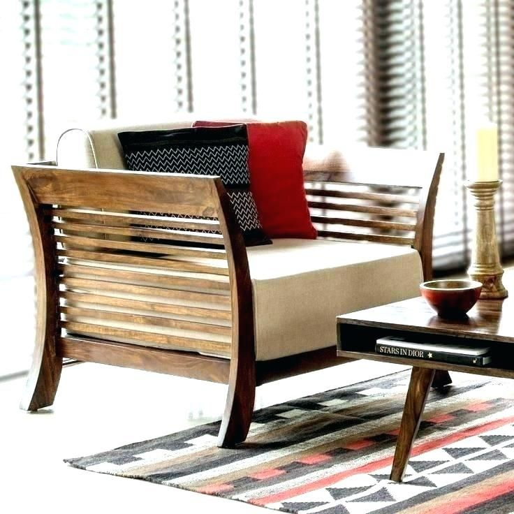 Wooden Sofa Set Without Cushion Furniture Design Wooden Wooden Sofa Designs Wooden Sofa Set