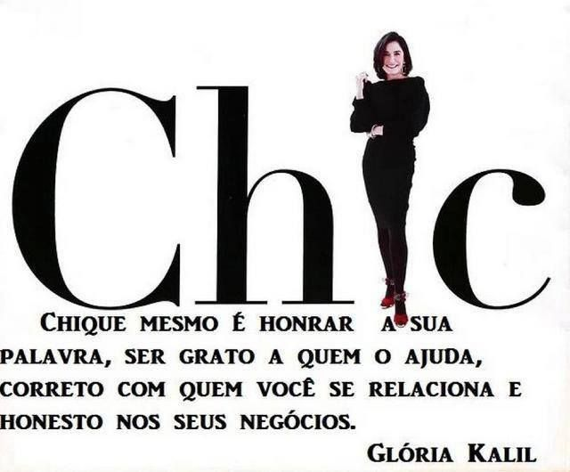 -Glória Kalil