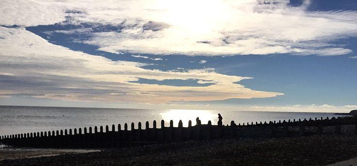 Twilight in Eastbourne - Adobe Photoshop, brush filter
