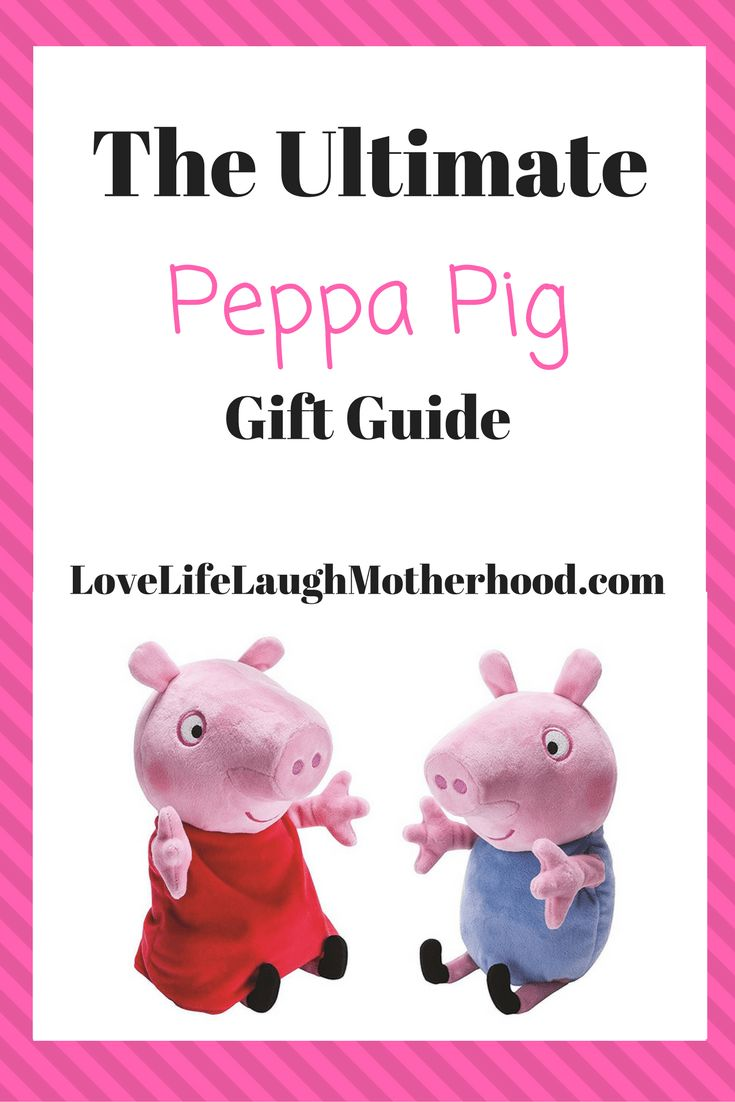 The Ultimate Peppa Pig Gift Guide #ad #christmas #peppapig #giftguide