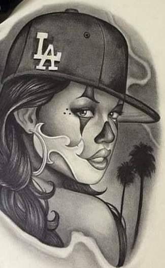 231 best dibujos de cholos images on Pinterest  Chicano art