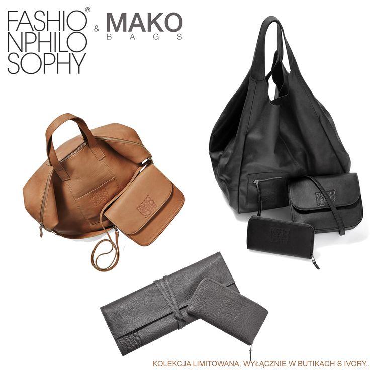 MAKO Bags z logiem FashionPhilosophy dostępne już w butiku S IVORY w łódzkiej Manufakturze!  https://www.facebook.com/pages/S-IVORY/220404294771172  #s-ivory #fashionweekpoland #fashionweekpl #bag #fall #trends #fashionphilosophy #fashionaddict  #sivory #fashionweekpoland #fashionweekpl #bag #fall #trends #fashionphilosophy #fashionaddict