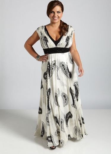 29 best Plus Size Dresses images on Pinterest | Plus size evening ...
