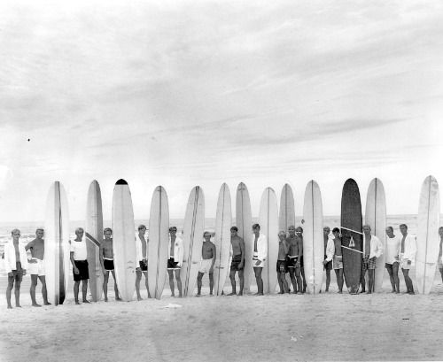 We're in love with some of these vintage Florida surfing photos from a recent FAU exhibit. Surf's up!