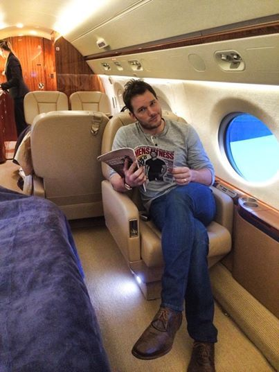 Chris Pratt. Oh my. There is a Fear of Flying joke here somewhere. (It's a book. Google it if you're young)