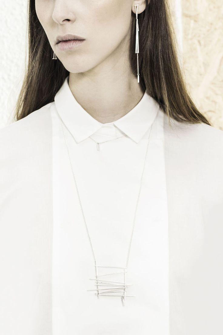 Juwelenontwerpster Lore Van Keer speelt met lijnen in nieuwe collectie