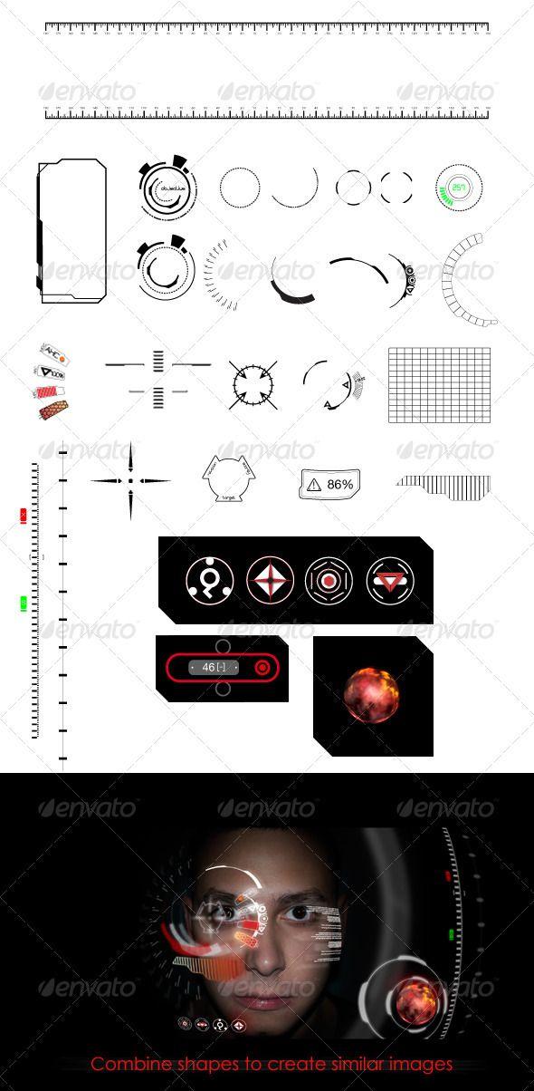 Heads Up Display (HUD) Elements $4.00
