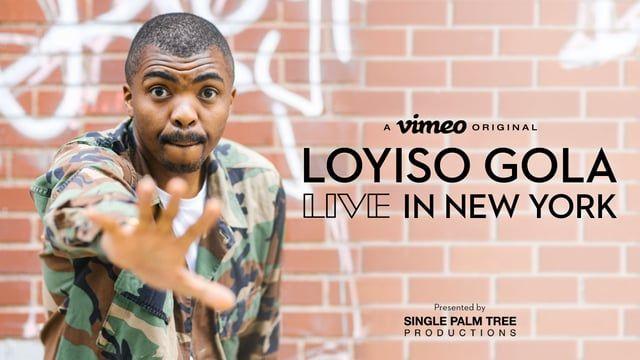 Loyiso Gola: LIVE in New York