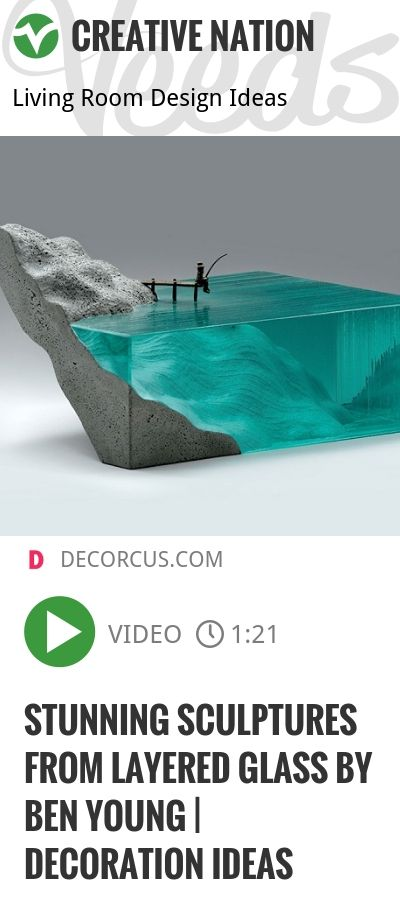 Stunning Sculptures From Layered Glass By Ben Young | Decoration Ideas | http://veeds.com/i/p2qAk45Spu8RYWFu/creativenation/