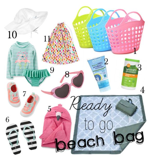 Ready to go Beach Bag - The Papmpered Baby Blog