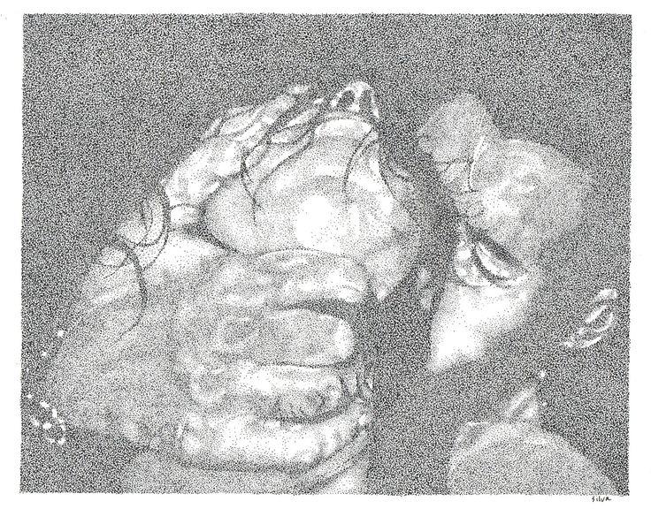 The Yielding - www.sereninspired.com - pointillism