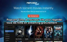 Vous cherchez à regarder des films en streaming gratuitement ? Voici le nouveau site que vous devez connaître. Ce nouveau site s'appelle Popcorn Time. Vous téléchargez le petit logiciel est c'est parti ! Facile n'est-ce pas ? Découvrez l'astuce ici : http://www.comment-economiser.fr/regarder-films-streaming-gratuitement.html